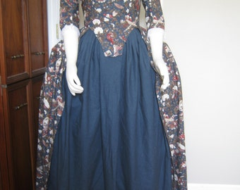 Cotton Colonial Gown sz 12