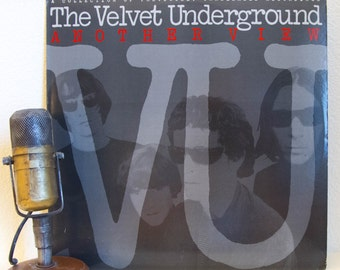 "ON SALE Velvet Underground (with Lou Reed and John Cale) Vinyl Record 1970s Classic Rock New York Underground Hipster ""Another View"" (1986 P"