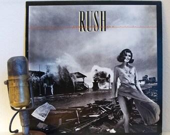 "ON SALE Rush Vinyl Record 1970s Rock Album ""Permanent Waves"" (Original 1980 Mercury Records, ""Freewill"")"