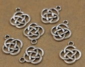 Celtic Knot Charm 10 Pack