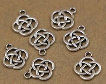 Celtic Knot Charm 10 Pack