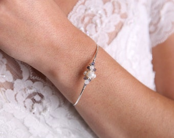 Something Blue Bridal Bracelet