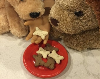 Miniature Dog Biscuit Treats Food for American Girl Doll pet 1:3