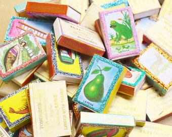 Mexican Wedding Favors Matchbox Favors Rehersal Dinner 25 Box lot