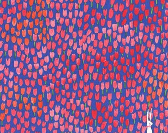 Michael Miller Sommer Berry Tulip Tangled fabric - 1 yard