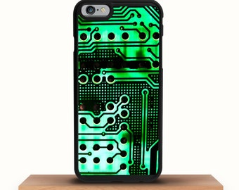 Circuit board iPhone case for iPhone 7, iPhone 6 case, iPhone 5 case, iPhone SE case