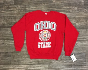 Vtg The OHIO STATE University Buckeyes Sweater