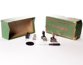 Singer Simanco Sewing Attachments 120378 120842 121441 121464 36865 Original Box
