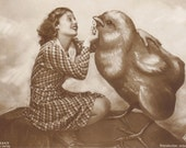 Lilian Harvey with a Very Cute Friend, by Ross Verlag, circa 1929