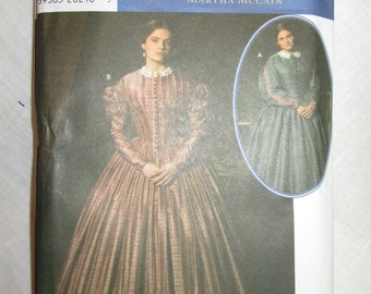 Simplicity 4400 - 1860's Dress pattern * size KK (8-14)*