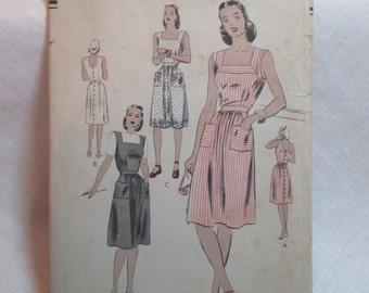"""Antique 1940's Vogue Pattern #5149 - size 36"""" Bust"""