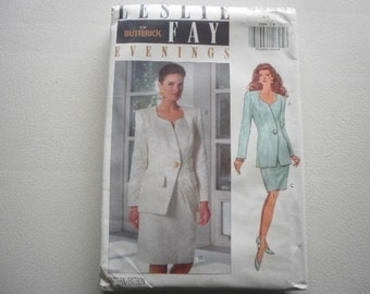 Pattern Vintage 1992 Women Plus Size Skirt and Top 2 Styles Sizes 18-20-22 Butterick V-5989 A