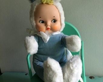 Knickerbocker Bunny, Bunny Kuddles, Midcentury, Made in USA