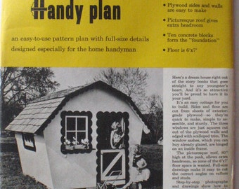 Woodworking Plans For A Child's Playhouse - Better Homes and Gardens Handy Plan 144