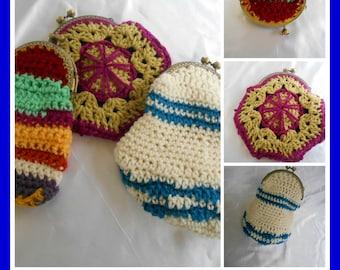 Little Crochet Purses