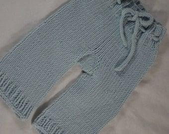 Newborn knit Longies