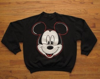 vintage Jerry Leigh Mickey Mouse sweatshirt