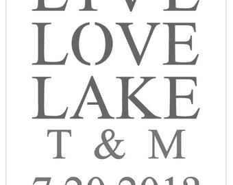 Custom glass etching stencils for Michelle Kelley