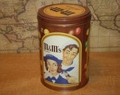 Vintage 1990 M&M Tin - item #1422