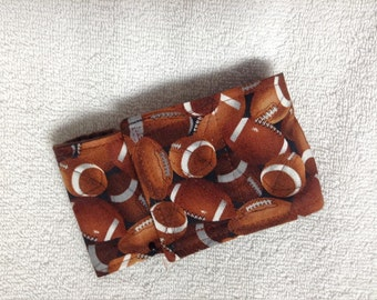 Male Dog Belly Band Diaper Pet Wrap Doggie Pants Cotton Footballs  Made To Order Sizes 8 To 30 Inches
