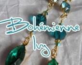 Custom OrderSeven  ballroom jean skirt Renaissance Denim Couture fairy goddess upcycled mermaid belle bohémienne