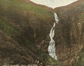 Grey Mare's Tail Moffat Antique Postcard – Stunning Scottish Landscape – Waterfall 1907