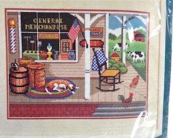 General Store Needlepoint Kit – Sunset Kit No. 12054
