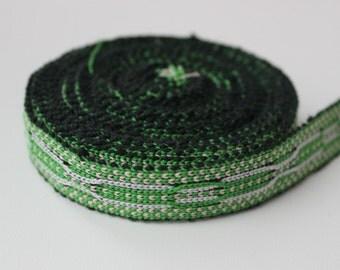 Uzbek color woven trim Jiyak. Ethnic Boho, Hippy trim