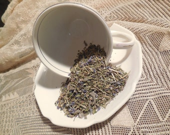 Loose Herbal Tea,  Headache Liberation, lavender, catnip, lemon balm, sage, rosemary, herb tea, no caffeine