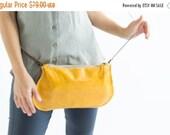 Yellow Crossbody Bags,  leather Yellow purse, leather clutch yellow bag, leather yellow wristlet, leather yellow pouch, yellow Evening Bags