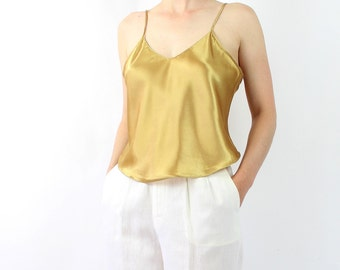 VINTAGE Gold Tank Top Camisole