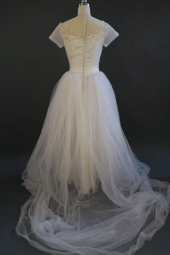 Vintage Wedding Dress Ca : S fairy tale wedding dress vintage princess bridal