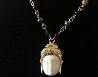 SALE! Gautama Buddha Beaded Necklace