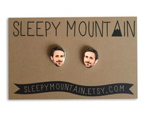 Ryan Gosling Earrings - Studs by Sleepy Mountain