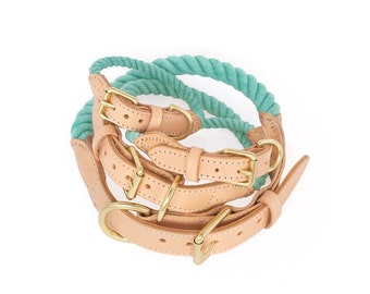 SALE Rope Dog Collar, Dream No. 1