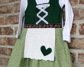 LONG SLEEVE Liesel baby dirndl German dress Sound of Music Costume