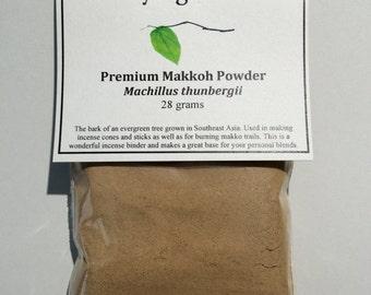 Premium Makko powder (Machillus thunbergii) - Used in Japanese incense rituals, meditation, incense cones and sticks and for Kodo ceremonies