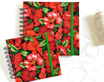 Fabric album, POPPY PARADE Instagram album, scrapbook album, brag book