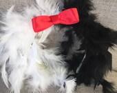 Cruella Inspired headband/Halloween