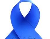 Royal Blue 1-1/2 inch Solid Grosgrain Ribbon - Solid Ribbon, Basic Ribbon, Hair Bow, Regular Blue, Bright Blue, Hairbow Supplies, Etc.