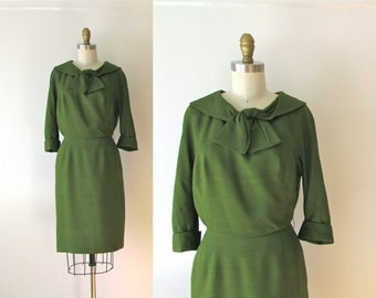 SALE vintage 1960s dress / 60s dress / Steno Pool