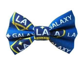 LA Galaxy Dog + Cat Bowtie