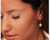 Freshwater Pearl Earrings - Free Psychic Reading With Purchase
