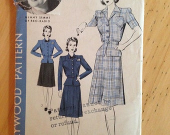Hollywood Pattern 1145 Ginny Sims