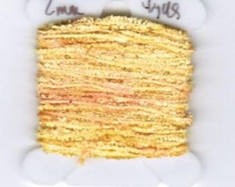 100% Silk Chenille - 2mm Golden Peach