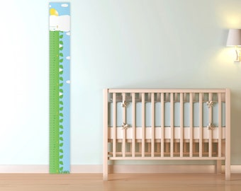 Growth Chart for Children, Jack and the Beanstalk, printable