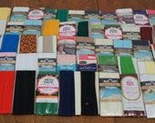 Destash Wide Bias Tape Trim Lot of 52 Packs