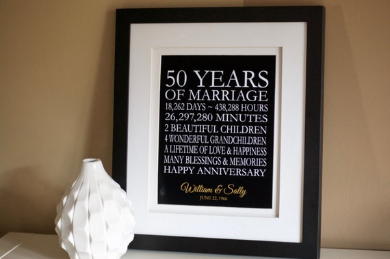 Golden Wedding Gift Ideas For Parents: 50th Anniversary Gift For Parents 50th Anniversary Gift 50th