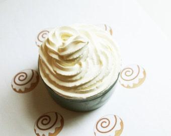 Cinnamon Bun Whipped Soap - Scented Soap - Homemade Soap - Vegan Soap - Glycerin Soap - Cream Soap