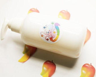 Mango Liquid Soap - Homemade Soap - Vegan Soap - Body Wash - Glycerin Soap - Hand Soap